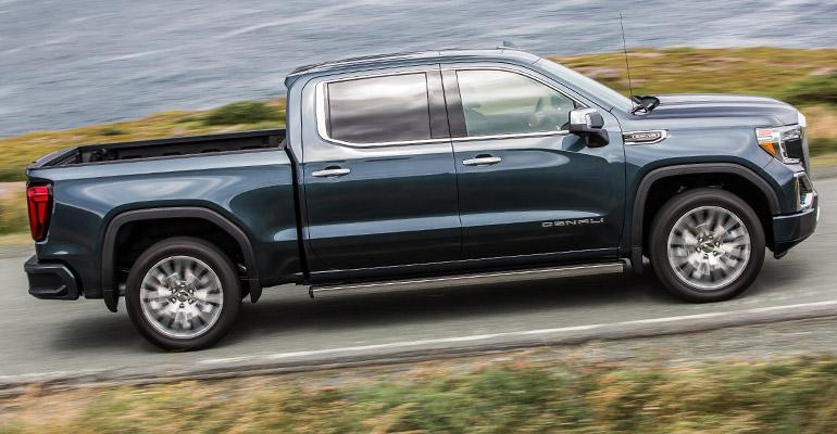 GMC Sierra designers strove for differentiation with '19 redesign.