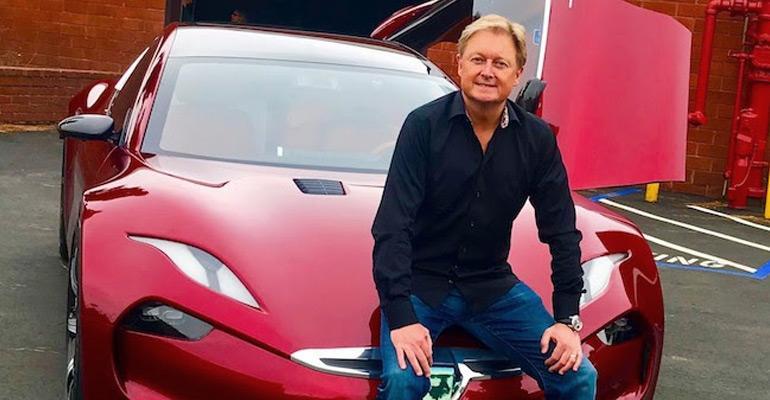 Car designer Henrik Fisker