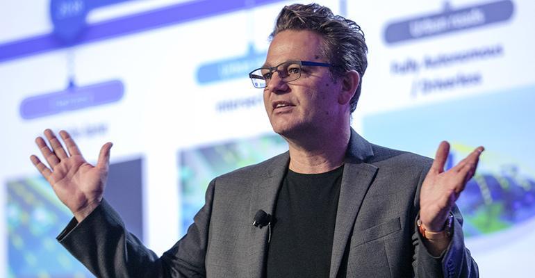 Maarten Sierhuis, Nissan chief technology officer.