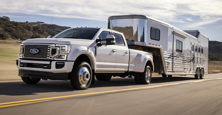F-Series Super Duty on front lines of Ford campaign to protect commercial business.