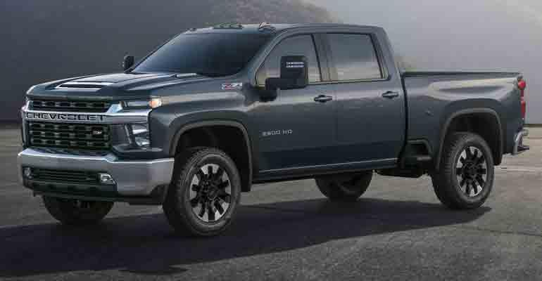 2020 Chevy Silverado HD.