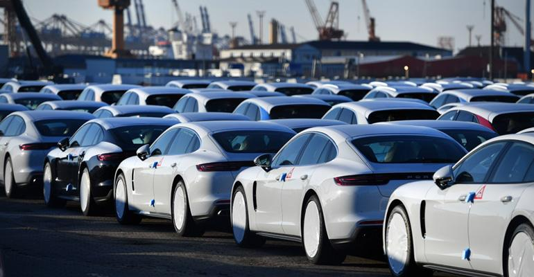 Porsche shipping from Germany