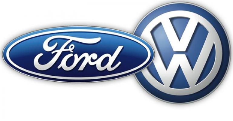 Under Ford-VW partnership neither automaker will have stake in other.