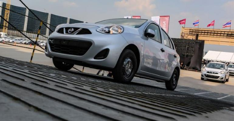 Nissan's Thai subsidiary has exported 1 million vehicles to 115 countries since 1999.
