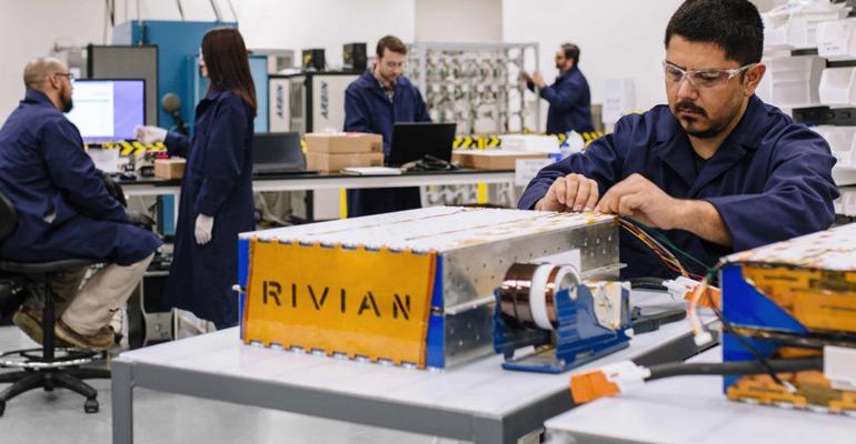 Rivian EV startup