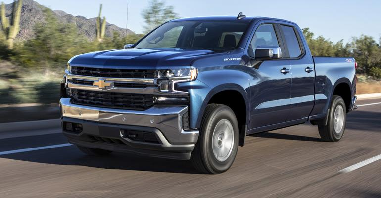 2019 Chevrolet Silverado RST 4-cyl. turbo.