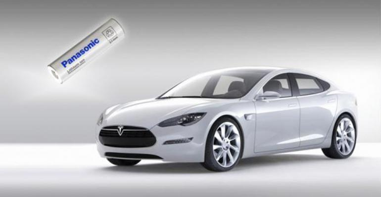 Panasonic reported ramping up battery-cell production for Tesla.