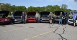 Wards judges are Christie Schweinsberg (next-to mid-engine Chevy Corvette), Jim Irwin (Genesis G80 V-6), Dave Zoia (Ford Mustang 4-cyl.), Bob Gritzinger (Hyundai Santa Fe Hybrid), Drew Winter (Jeep Wrangler 4xe) and Tom Murphy (Polestar 2 BEV).