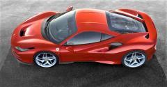 F8 Tributo design cues recall past Ferrari models.