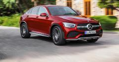 GLC Coupe receives tweaks to front end.