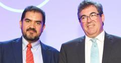 Mexico's Malpica (left), Canada's Bird optimistic for August NAFTA deal.
