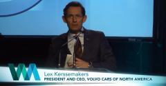 Volvo 2.0L T6 4-Cyl. -- 2016 Award Acceptance
