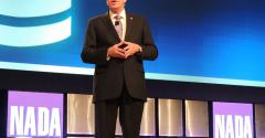 Westcott addresses convention audience
