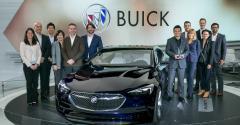 Buick Avista design team after winning best concept car award in Detroit