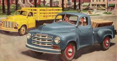 Studebaker39s redesigned 3949 truck line includes more models