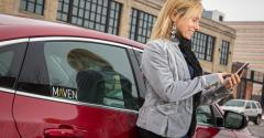 Maven smartphone apps put GM vehicles at usersrsquo fingertips
