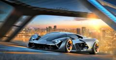 Electric concept Lamborghini substitutes supercapacitors for battery