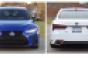 2021 Lexus IS front. 2021 Lexus LS rear.png