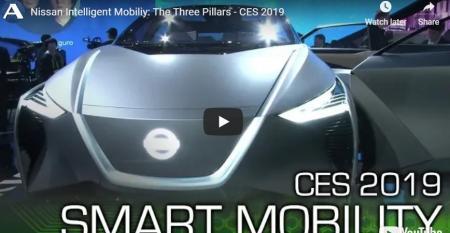 Nissan Autoline CES 2019