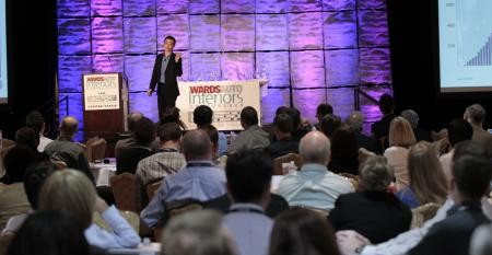 VW39s Jae Min gives keynote speech at WardsAuto Interiors Conference attended by a record 480 people