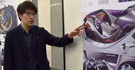WardsAutoCCS interior design contest Grand Award winner Takashi Kumamoto