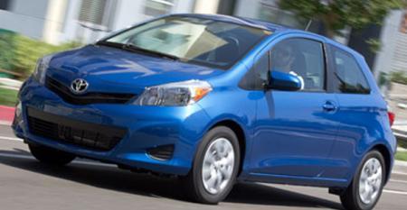 2012 Model: Toyota Yaris
