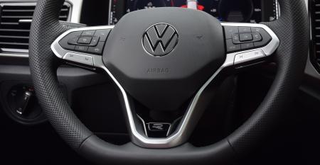 VW Atlas Cross Sport  steering wheel.JPG