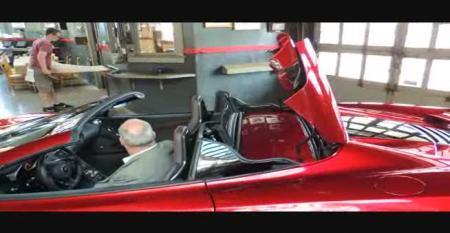 Folding Hardtop for '13 McLaren 12C Spider
