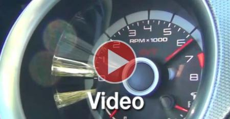 Ford Shelby GT500 Test Drive for Ward's 10 Best Engines of 2013