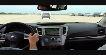 Subaru EyeSight Demo