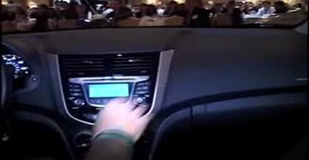 Hyundai Accent – Ward's 10 Best Interiors Awards Ceremony