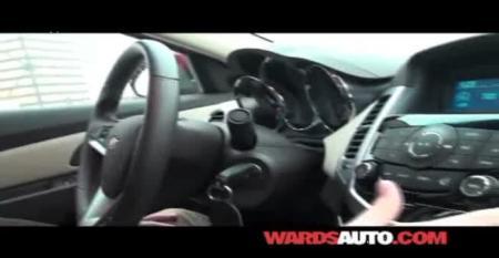 Chevy Cruze - Ward's 10 Best Interiors of 2011 Judging