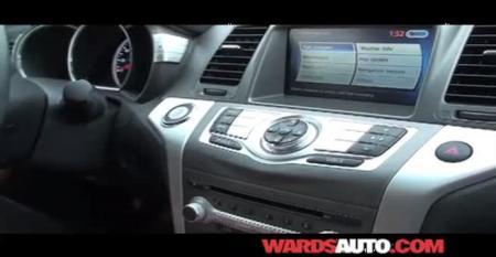Nissan Murano - WardsAuto Interiors Review