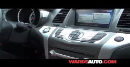Nissan Murano - Ward's 10 Best Interiors of 2011 Judging
