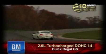Ward's 10 Best Engines: General Motors 2.0L Turbocharged DOHC I-4