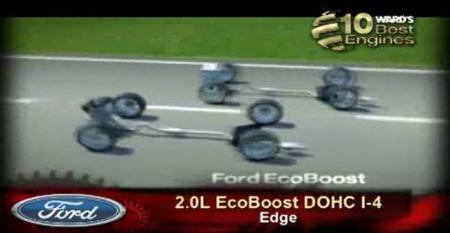 Ward's 10 Best Engines: Ford 2.0L EcoBoost DOHC I-4