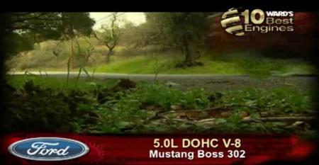 Ward's 10 Best Engines: Ford 5.0L DOHC V-8