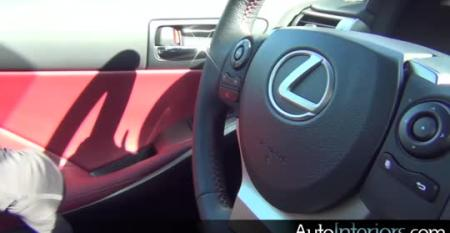 Lexus IS F Sport: Judging for 2014 Ward's 10 Best Interiors