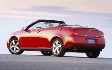 Gm Tweaks Pontiac G6 Retractable Hardtop During Production Hiatus