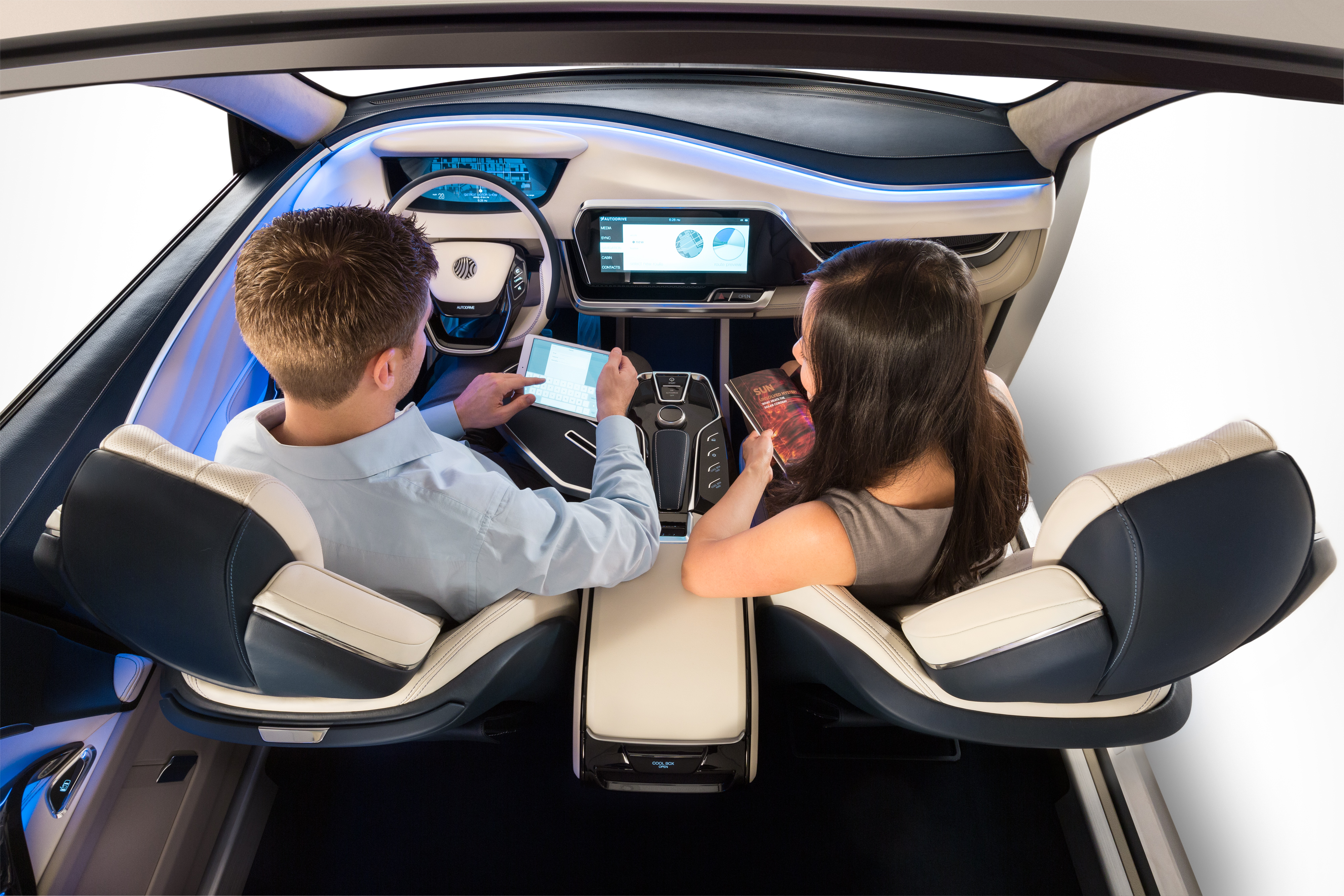 Self-Driving Concept Highlights Production-Ready Tech ...