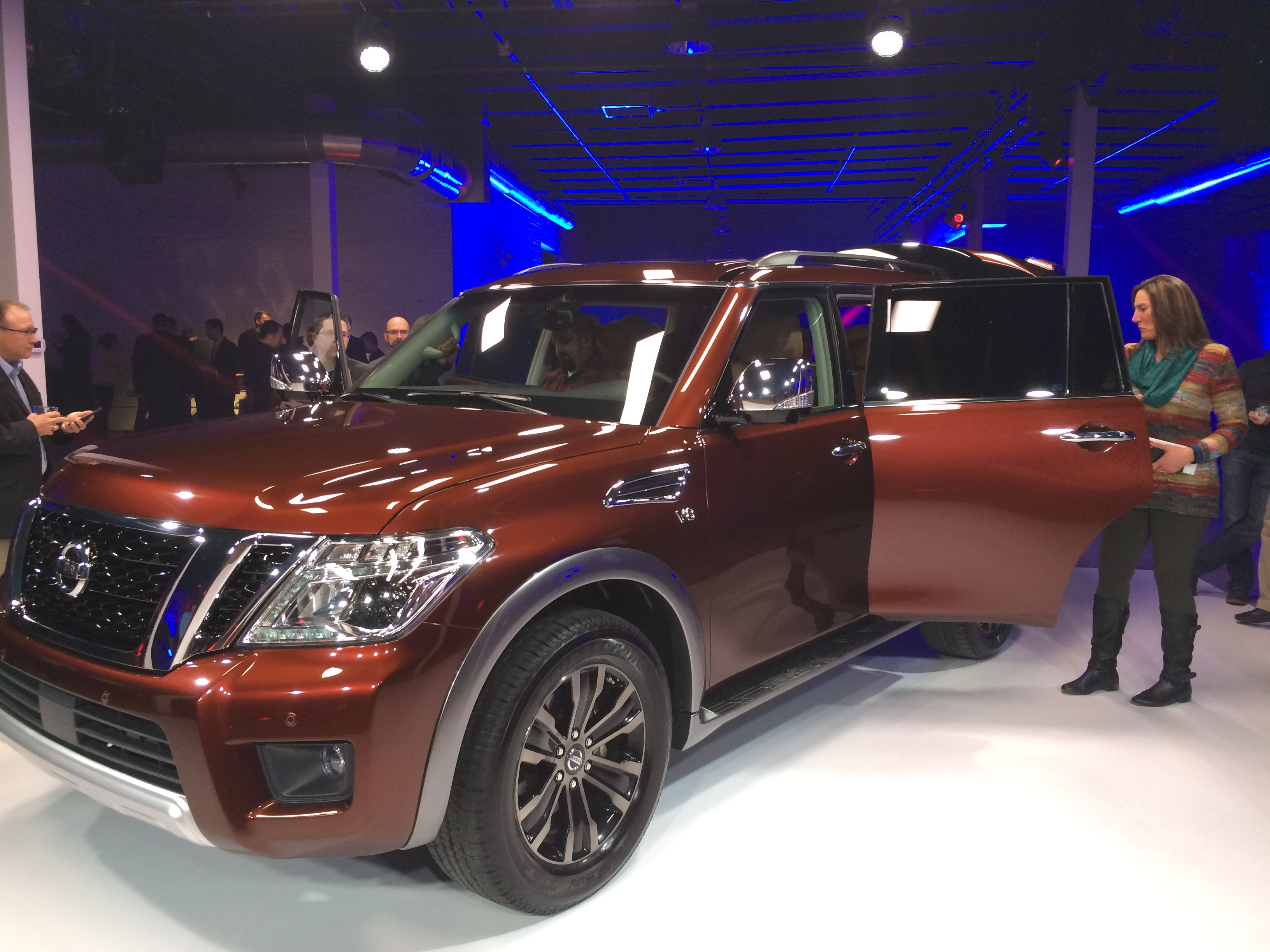 Nissan Goes Upscale With New Armada SUV Aims at Chevy Tahoe