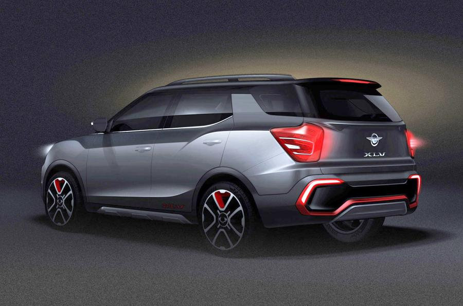 Ssangyong Teases Long-Body Version of Popular Tivoli ...