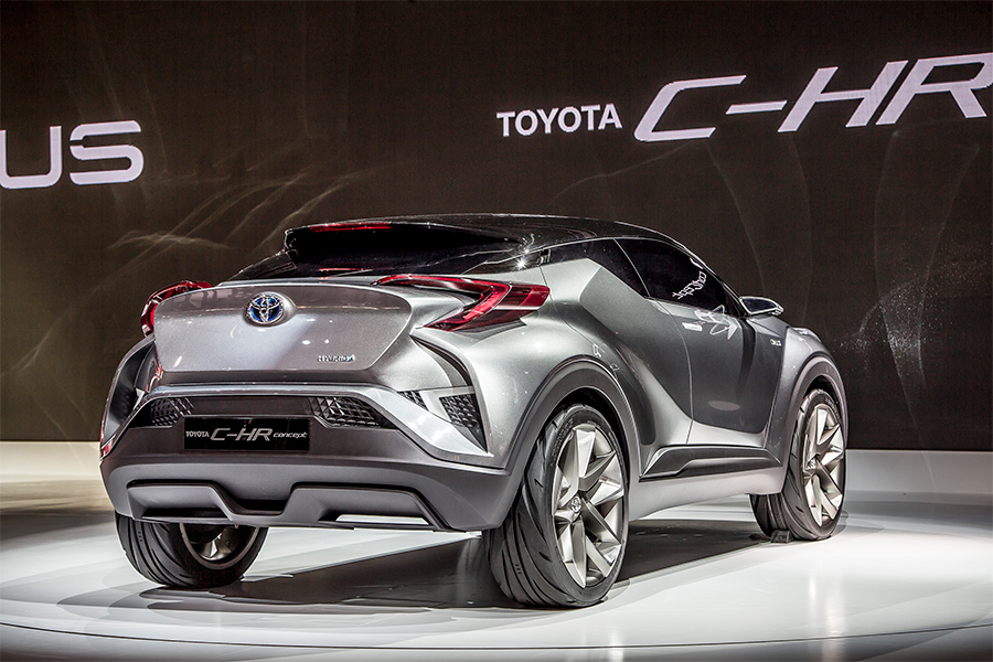 Toyota C-HR | 'Coupe-High Rider' Compact CUV Blends ...