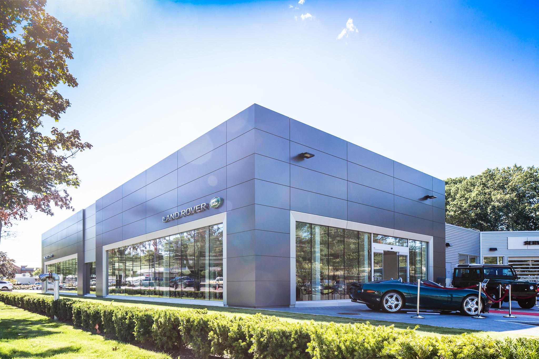 Penske Jlr Dealership First To Adopt New Global Design