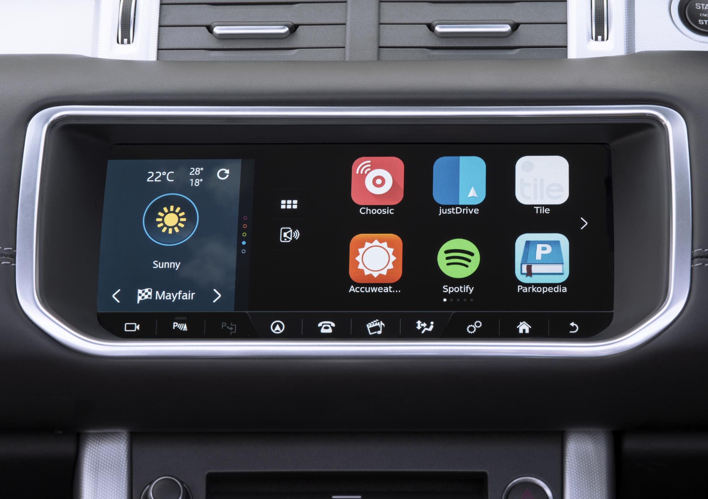 Jlr Automaker Amplifies In Car Entertainment With