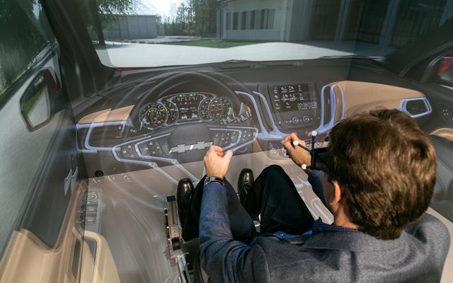Virtual Reality Rooms Refine Vehicle