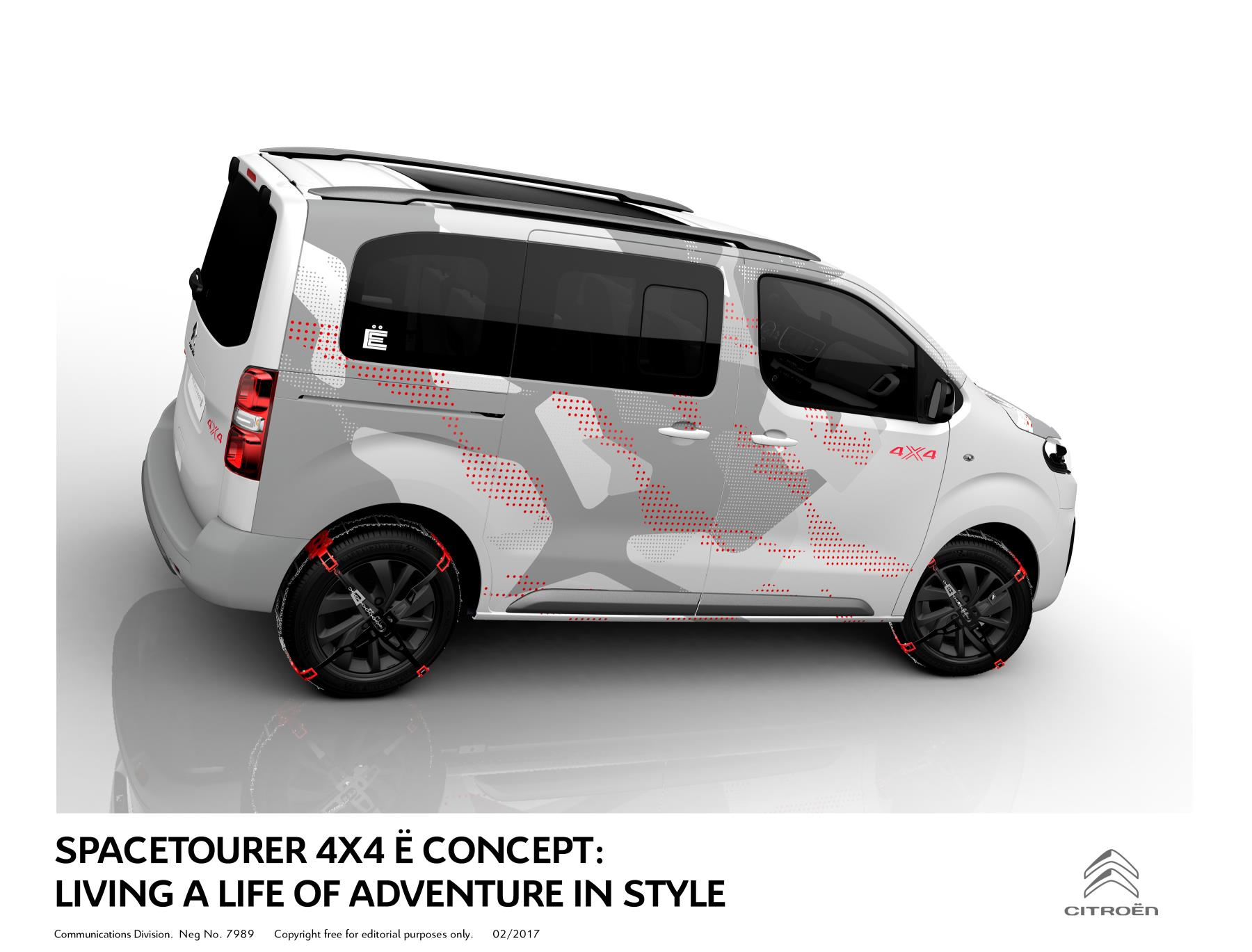 Specialty Auto Sales >> Citroen | Roomy, Rugged Space Tourer 4X4 E Concept Coming ...