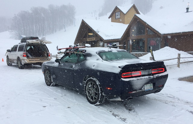 Snow No Challenge For Awd Dodge Muscle Car Wardsauto