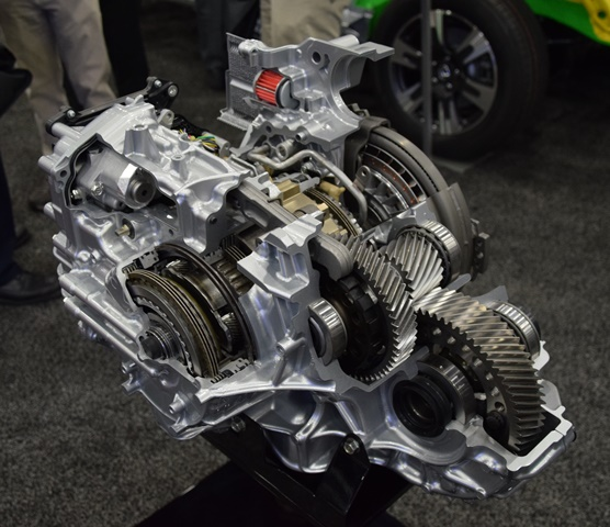 Cutaway Of Honda 10 Sd Automatic