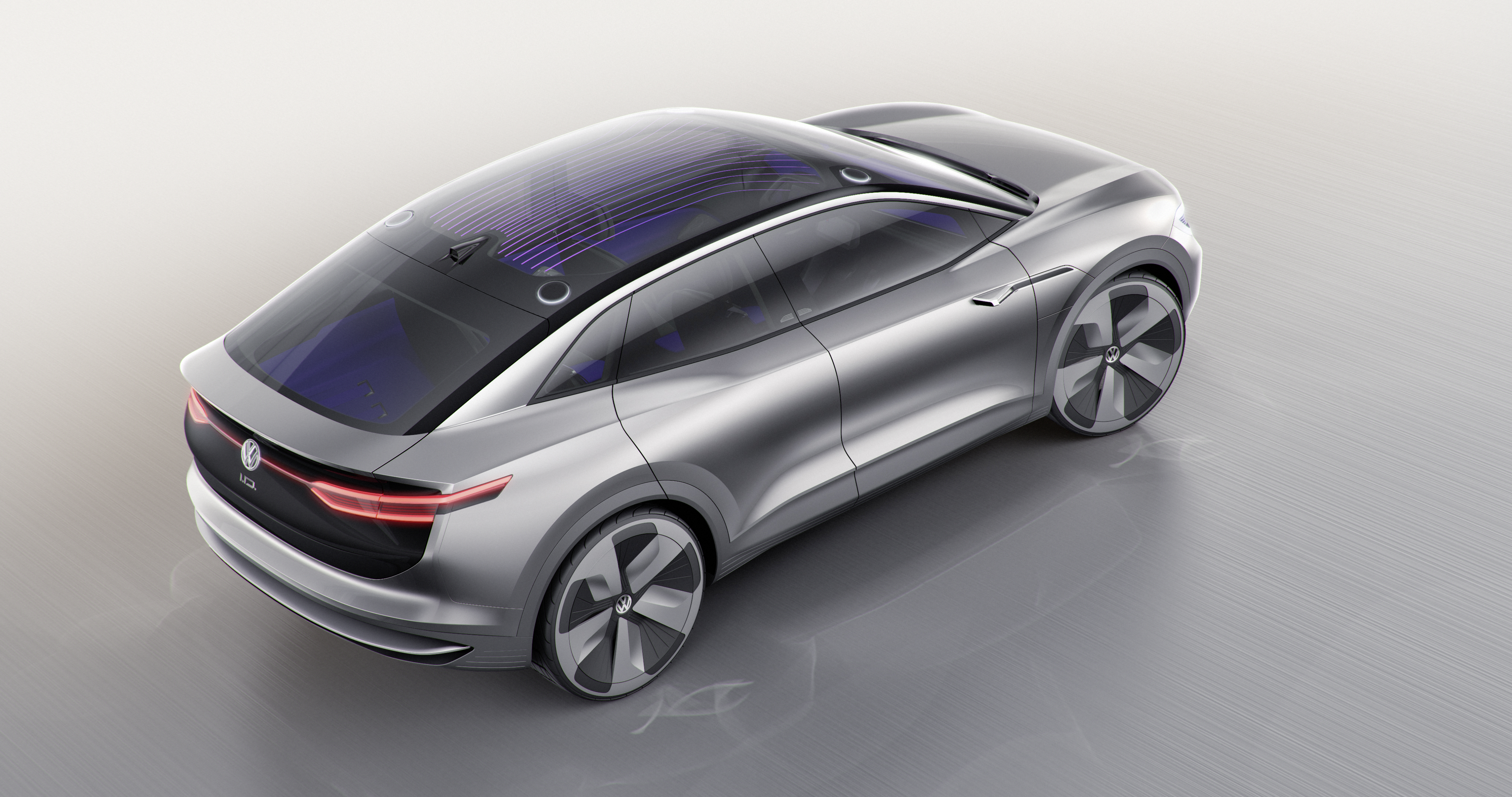 Volkswagen | VW Advances on Electric Front With I.V. Crozz ...